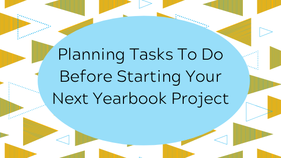Yearbook planning ideas